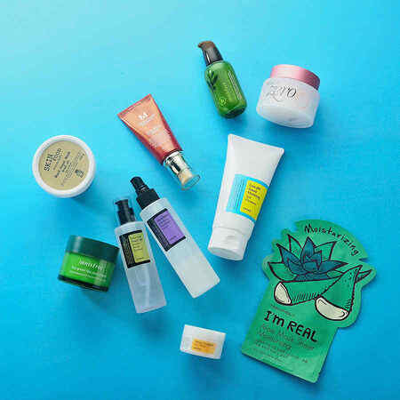 10 Step Korean Skin Care Set (Dry Skin)