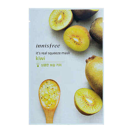 Innisfree Its Real Squeeze Mask Kiwi