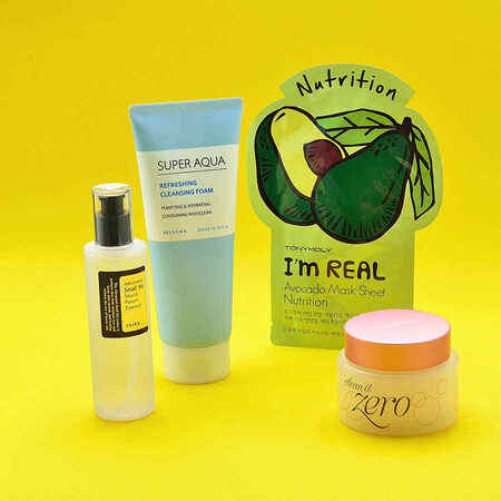 Korean Skin Care Essentials (Normal Skin)